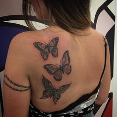 Butterfly Tattoo: create your tattoo from meanings and pictures - Dope Tattoos, Badass Tattoos, Pretty Tattoos, Body Art Tattoos, Hand Tattoos, Small Tattoos, Sleeve Tattoos, Flower Tattoos, Rose And Butterfly Tattoo