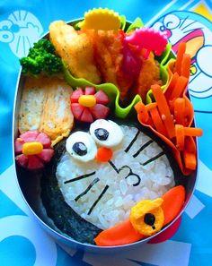 Doraemon #Charaben #Kyaraben #Bento