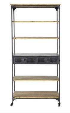 metallregale im industrial style f rs wohn und esszimmer oder f r die k che industrial. Black Bedroom Furniture Sets. Home Design Ideas