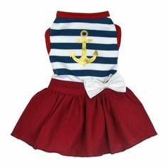 Sailor Girl Dress | Love My Puppy