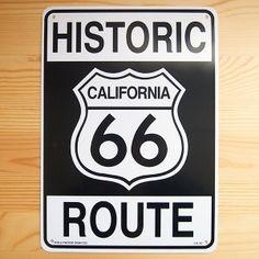 画像: 看板/プラサインボード ヒストリックルート66 Historic Route 66