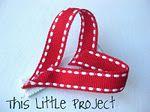 cute heart clip for little girl's hair