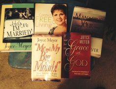 Joyce Meyer Books Lot Of 5-FREE SHIPPING!
