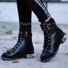 Ghete Rocky Dr. Martens, Combat Boots, Biker, Shoes, Fashion, Moda, Zapatos, Shoes Outlet, Fashion Styles