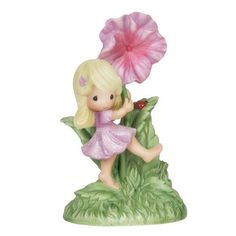 Precious Moments You Are My Sunshine Girl Hibiscus Ladybug New for 2015 151056 #Figurine