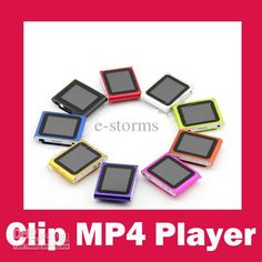 Wholesale Mp4 Player - Buy 2012 New Clip MP3 MP4 Player with Micro SD Card Slot FM Radio+Voice Recorder 16 Languages $10.89 | DHgate