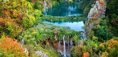 Com cachoeiras e piscinas naturais, parque croata lembra o Jardim do Éden - Notícias - UOL Viagem