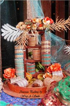 Rose n Wrap: Trousseau Packing Indian Wedding Gifts, Desi Wedding Decor, Wedding Decorations, Wedding Ideas, Wedding Bride, Wedding Crafts, Wedding Art, Trendy Wedding, Luxury Wedding