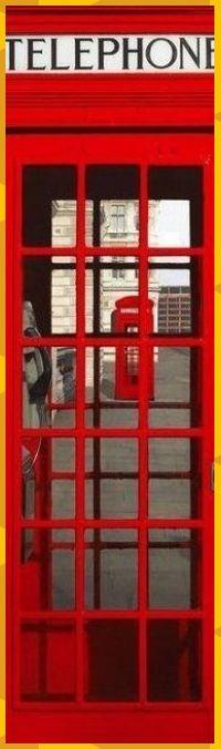 XXL-Poster London by day England Telefonzelle NEU