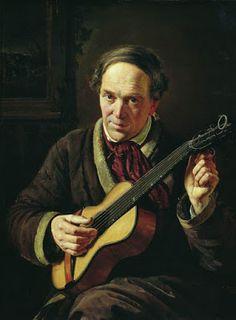 TICMUSart: Portrait of E.Makovsky, Artist's Father - Konstantin Makovsky (1856) (I.M.)