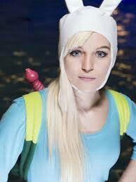 Fionna cosplay