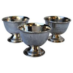 Check out this item at One Kings Lane! Silver Trophy Cups, S/3