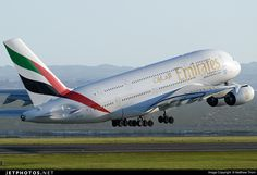 Photo of A6-EEG Airbus A380-861 by Matthew Thorn