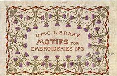 Gallery.ru / Фото #1 - Vintage DMC - Motifs for Embroideries No 3 - Dora2012