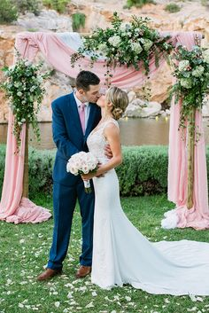 We are sharing today a beautiful destination wedding that took place in the Athenian Riviera! Paige and Alex chose to have a non-denominational ceremony Greek Wedding, Our Wedding, Destination Wedding, Beautiful Gardens, Beautiful Flowers, Naturally Beautiful, Mermaid Dresses, Garden Styles, Athens