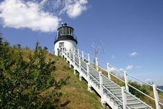 Owls Head Lighthouse near Camden, Maine