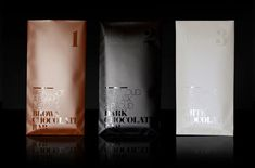 Death By Chocolate packaging by Denise Franke Food Packaging Design, Coffee Packaging, Coffee Branding, Packaging Design Inspiration, Brand Packaging, Coffee Labels, Branding Ideas, Bottle Packaging, Beer Labels