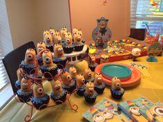 Liam's minion birthday party!!!