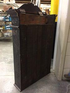 Antique Barber Shop Cabinet