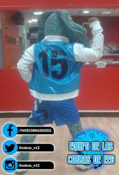 ¡Nuestra mascotita también apoya a Mathias Brivio - Oficial! #EquipoCobrasEEG