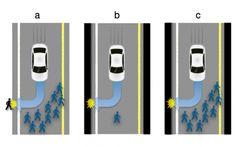 Desenvolvedores do veículo terão que decidir entre programá-los para proteger pedestres ou os passageiros em situações-limite