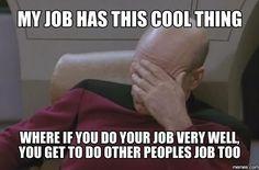 Untitled Funny Jokes, Funny Fails, Hilarious Work Memes, Funny Coworker Memes, Memes Humor, Job Humor, Humor Videos, Facepalm Meme, Work Humor