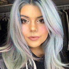 subtle holographic hair color 2018