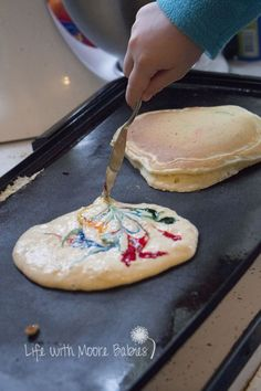 Life with Moore Babies: Marbled Pancakes