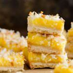 """introvertbaker: """" These Coconut Lemon Bars are the perfect treat for your summer cookout! They're made with simple ingredients that come together easily. Toasted coconut is speckled throughout the. Lemon Coconut Bars, Lemon Bars, Toasted Coconut, Lemon Desserts, Lemon Recipes, Baking Recipes, Dessert Recipes, Brownie Recipes, Free Recipes"""