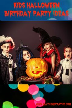 Kids Halloween Birthday Party Ideas- This year these kids Halloween birthday party ideas are perfect for combing two of your kids favorite holidays into one amazing celebration.  Halloween is perfect for creating a fun costume party, and kids will love making that the theme for their birthday.  With candy, treats, decorations and more so fun and creepy, everyone in the family will be having tons of fun at this epic Halloween themed birthday party. #Halloweenparty #Halloween