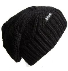 Frost Hats M-113NF BLACK Winter Hat for Women Slouchy Beanie Chunky Knitted Hat Winter Hat Frost Hats Frost Hats. $16.99