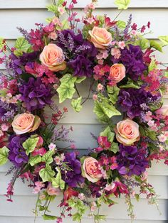 Spring Wreaths | Front Door Wreaths | Spring Door Wreath | Wreaths for Front Door | Housewarming Gift | Gift for Mom