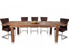 Kupuj I & I Stół Rozkładany 200-280x100cm Drewno Palisander lakier półmat i16911 w sklepie meblowym max-meble.pl