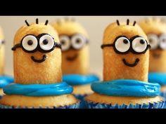 cupcakes dei minions - ecco come farli a casa!