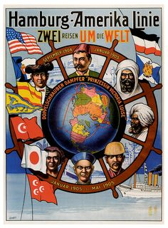 Poster Vintage: Viaggi -Vintage Travel Poster
