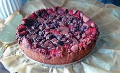 Kalinka's Kitchen: Beeren-Brownie (vegan, glutenfrei, healthy & clean)