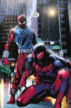 Scarlet spiders!!!
