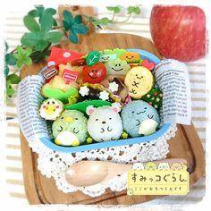 Cute Snacks, Cute Desserts, Cute Food, Japanese Food Art, Japanese Lunch Box, Kawaii Bento, Cute Bento, Cute Baking, Creative Food Art