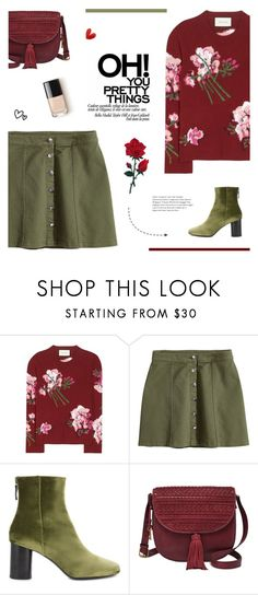 """""""Happy Birthday @emmagrace162!"""" by paradiselemonade ❤ liked on Polyvore featuring Gucci, H&M, Sandro, FOSSIL and paradiselemonadeTS"""