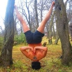 Headstand taken in Seattle, United States by Robin Martin