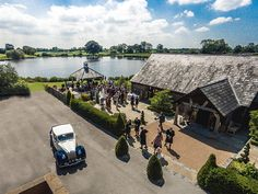 **Aerial wedding photography** Drones are enabling the pros to capture some really unique angles of your wedding day.