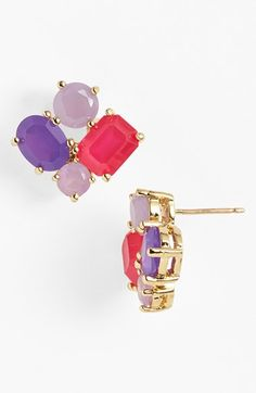 kate spade new york cluster stud earrings available at #Nordstrom