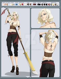 Read Fiche personnage : Olympe Newgate from the story La pirate solitaire et le chirurgien de la mort by (Olympe. Naruto Oc Characters, Dnd Characters, Fantasy Characters, Female Characters, Fantasy Character Design, Character Concept, Character Inspiration, Character Art, Oc Manga