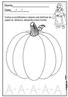 ATIVIDADES DE EDUCAÇÃO INFANTIL  E MUSICALIZAÇÃO INFANTIL: Pontilhados