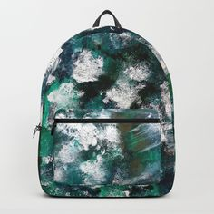 My #Backpacks paintings inspired! #fashion #style #artist #ocean #nautical