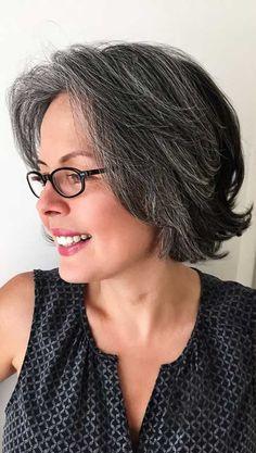 Am meisten bevorzugte kurze geschichtete Haarschnitte, Kurze Haare, Haircut For Older Women, Elegant Hairstyles, Short Bob Hairstyles, Short Hairstyles For Women, Bob Haircuts, Hairstyles 2018, Layer Haircuts, Haircut Short, Gorgeous Hairstyles