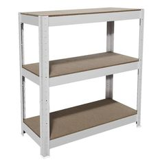Shop Cobalt 3 Shelf Metal Shelving Unit White with our Price Beat Guarantee. Metal Shelving Units, Neat And Tidy, Furniture Sale, Adjustable Shelving, Cobalt, Shelf, Home Decor, Shelving, Decoration Home