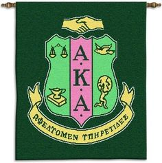Alpha Kappa Alpha Wall Hanging - Wall Hanging - Greek Life by Pure Country, http://www.amazon.com/dp/B001GDNSUO/ref=cm_sw_r_pi_dp_PDbxrb0KR0F6N