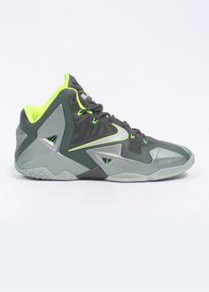591bf9e1603 The Nike LeBron 11 in the Mica Green  Dunkman  colourway