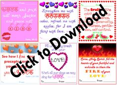 some printable valentines with the bible verses to make it easy for everyone to use them!